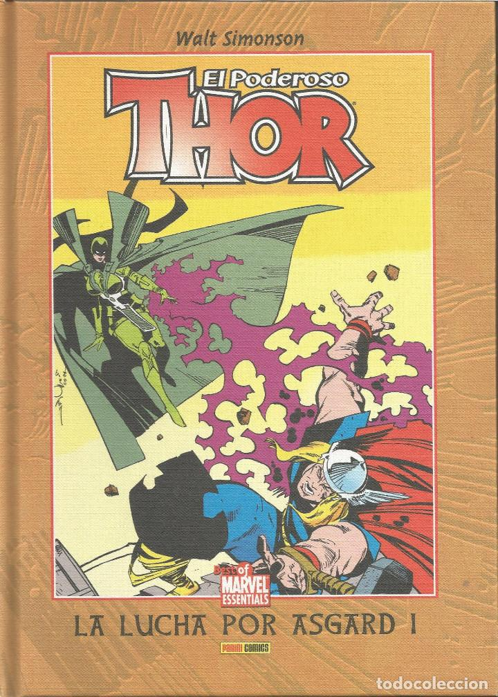 THOR, EL PODEROSO LA LUCHA POR ASGARD I Nº 4 BEST OF MARVEL ESSENTIALS PANINI ESPAÑA (Tebeos y Comics - Panini - Marvel Comic)