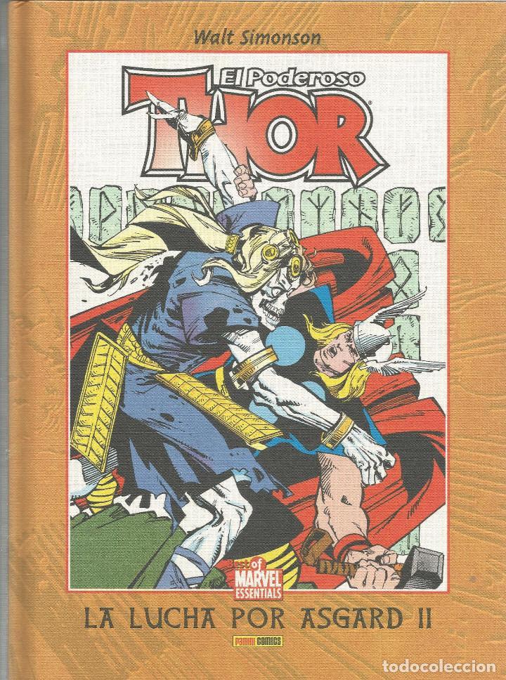 THOR, EL PODEROSO LA LUCHA POR ASGARD II Nº 5 BEST OF MARVEL ESSENTIALS PANINI ESPAÑA (Tebeos y Comics - Panini - Marvel Comic)