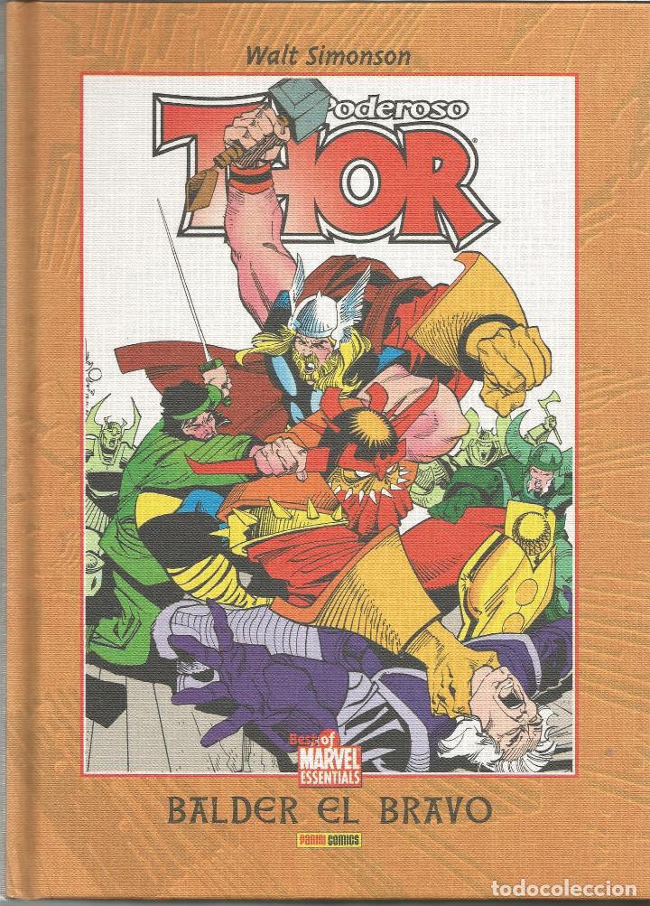 THOR, EL PODEROSO BALDER EL BRAVO Nº 6 BEST OF MARVEL ESSENTIALS PANINI ESPAÑA (Tebeos y Comics - Panini - Marvel Comic)