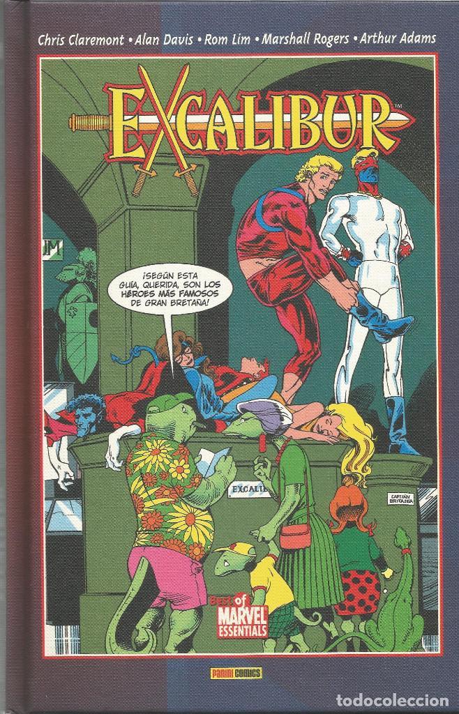 EXCALIBUR Nº 2 BEST OF MARVEL ESSENTIALS PANINI ESPAÑA (Tebeos y Comics - Panini - Marvel Comic)