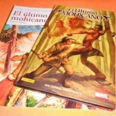 Cómics: EL ULTIMO MOHICANO. CLASICOS ILUSTRADOS MARVEL. MAS REGALO. MUY BUEN ESTADO.. Lote 113199375