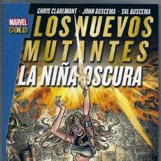 Cómics: LOS NUEVOS MUTANTES: LA NIÑA OSCURA (CHRIS CLAREMONT, SAL BUSCEMA) / MARVEL GOLD - PANINI, 07/2013. Lote 113623359