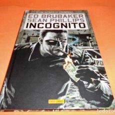 Cómics: INCOGNITO: LIBRO 01 - ED BRUBAKER, SEAN PHILLIPS (PANINI 2009). TAPA DURA. IMPECABLE.. Lote 203333983