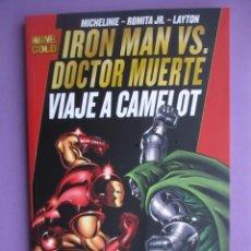 Cómics: IRON MAN VS DOCTOR MUERTE, VIAJE A CAMELOT, MARVEL GOLD,¡¡¡¡NUEVO!!!!. Lote 113862227
