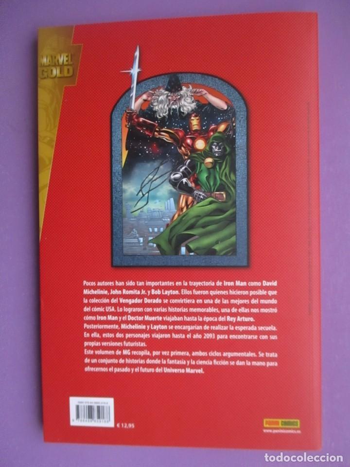 Cómics: IRON MAN VS DOCTOR MUERTE, VIAJE A CAMELOT, MARVEL GOLD,¡¡¡¡NUEVO!!!! - Foto 2 - 113862227