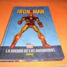 Cómics: IRON MAN: LA GUERRA DE LAS ARMADURAS - DAVID MICHELINE Y BOB LAYTON - BOME - PANINI - MARVEL CARTONÉ. Lote 114350287