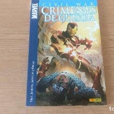 Cómics: CIVIL WAR: CRIMENES DE GUERRA, DE PANINI COMICS (VARIOS AUTORES). Lote 115312727