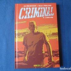 Cómics: CRIMINAL 02 LAWLESS DE ED BRUBAKER & SEAN PHILIPS. Lote 115551627