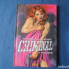 Cómics: CRIMINAL 04 MALA NOCHE DE ED BRUBAKER & SEAN PHILIPS. Lote 115552295