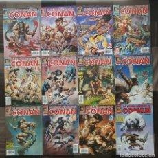 Cómics: LA ESPADA SALVAJE DE CONAN V3. LOTE DE 12 COMICS. COMICS FORUM 1997. Lote 115609407