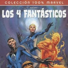 Cómics: COL. 100 % MARVEL - 4 FANTASTICOS EL FIN - PANINI - IMPECABLE - OFI15. Lote 115704995