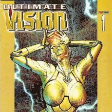 Cómics: ULTIMATE VISION COMPLETA 1 Y 2 - PANINI - IMPECABLE - C15 - OFM15. Lote 115737015