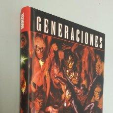 Cómics: GENERACIONES ¡ ONE SHOT 352 PAGINAS ! MARVEL - PANINI. Lote 115817975