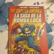 Cómics: LA SAGA DE LA BOMBA LOCA CAPITAN AMERICA MARVEL GOLD. Lote 116125375