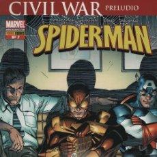 Cómics: SPIDERMAN V2 Nº 7 - PANINI COMICS MARVEL CIVIL WAR. Lote 116162691