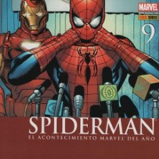 Cómics: SPIDERMAN V2 Nº 9 - PANINI COMICS MARVEL CIVIL WAR. Lote 116162815