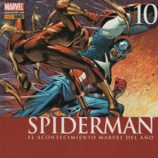 Cómics: SPIDERMAN V2 Nº 10 - PANINI COMICS MARVEL CIVIL WAR. Lote 116162859