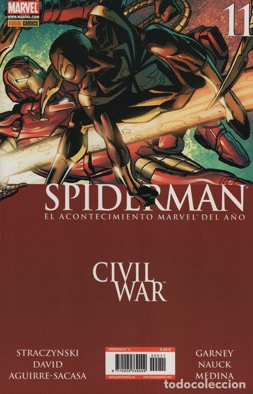 SPIDERMAN V2 Nº 11 - PANINI COMICS MARVEL CIVIL WAR (Tebeos y Comics - Panini - Marvel Comic)