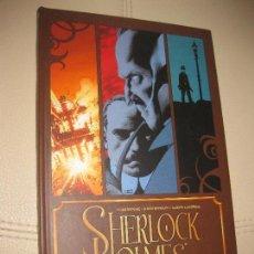 Cómics: SHERLOCK HOLMES. EL JUICIO DE SHERLOCK HOLMES. LEAH MOORE. JOHN REPPION. AARON CAMPBELL,EDITA PANINI. Lote 116208071