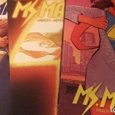 Cómics: LOTE MS MARVEL TOMOS 3, 4 Y 6 - PANINI - G WILLOW WILSON. Lote 116212055