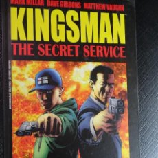 Cómics: COMIC KINGSMAN THE SECRET SERVICE PANINI MARK MILLAR Y DAVE GIBBONS , VER FOTOS. Lote 116409871