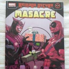 Cómics: MASACRE - REINADO OSCURO 3. Lote 116463391