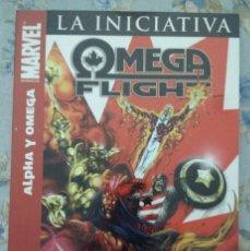 Cómics: LA INICIATIVA. OMEGA FLIGHT - ALPHA Y OMEGA. DE OEMING, KOLINS Y REBER. Lote 116466787