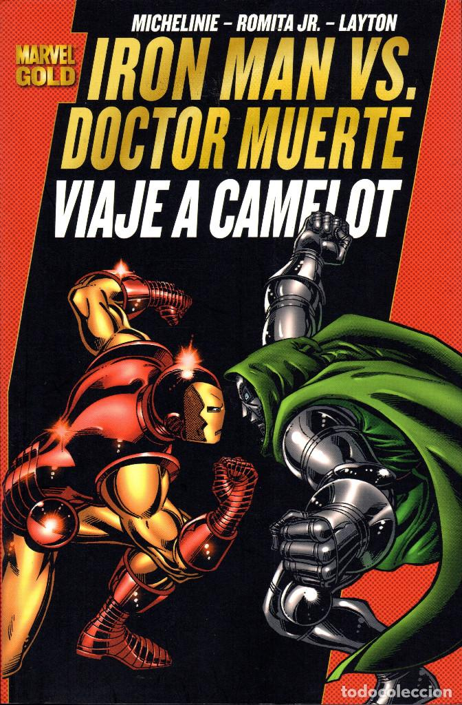IRON MAN VS. DOCTOR MUERTE: VIAJE A CAMELOT -MICHELINIE·ROMITA JR.·LAYTON (Tebeos y Comics - Panini - Marvel Comic)