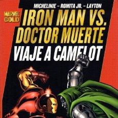Cómics: IRON MAN VS. DOCTOR MUERTE: VIAJE A CAMELOT -MICHELINIE·ROMITA JR.·LAYTON. Lote 116615235