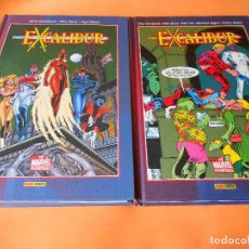 Cómics: EXCALIBUR - BEST OF MARVEL ESSENTIALS - COMPLETA (2 TOMOS) BUEN ESTADO - PANINI. Lote 116817983