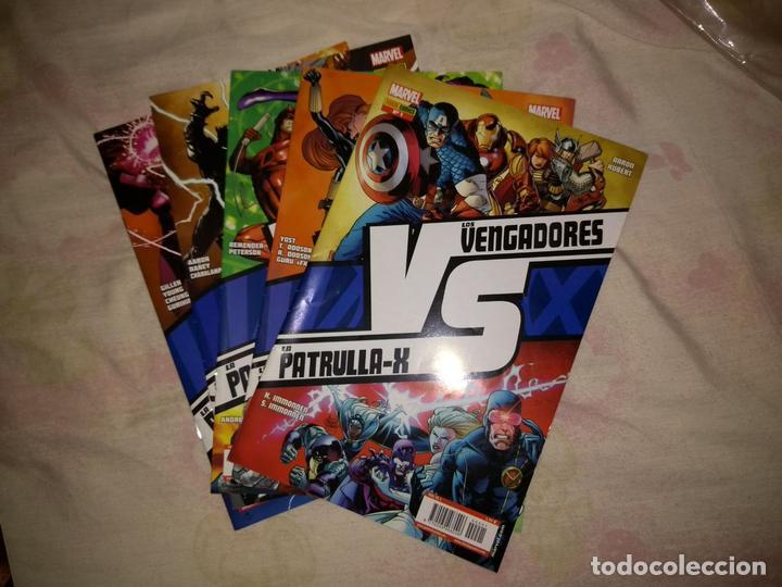 LOS VENGADORES VS LA PATRULLA X - COMPLETA (Tebeos y Comics - Panini - Marvel Comic)