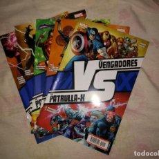 Cómics: LOS VENGADORES VS LA PATRULLA X - COMPLETA. Lote 116991987