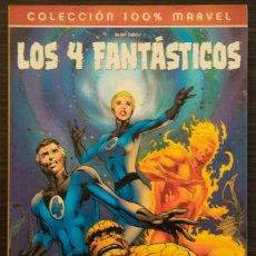 Cómics: LOS 4 FANTÁSTICOS EL FIN ALAN DAVIS COLECCIÓN 100% MARVEL. Lote 194211637