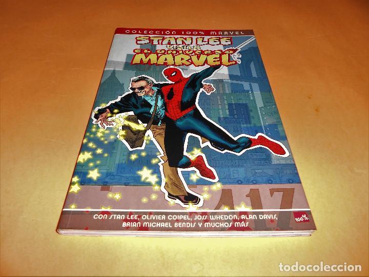 STAN LEE VISITA EL UNIVERSO MARVEL. VARIOS AUTORES. RUSTICA. IMPECABLE. (Tebeos y Comics - Panini - Marvel Comic)