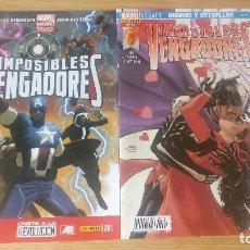 Cómics: IMPOSIBLES VENGADORES (COMPLETA 1-61), DE PANINI COMICS (RICK REMENDER & GERRY DUGGAN). Lote 118000535
