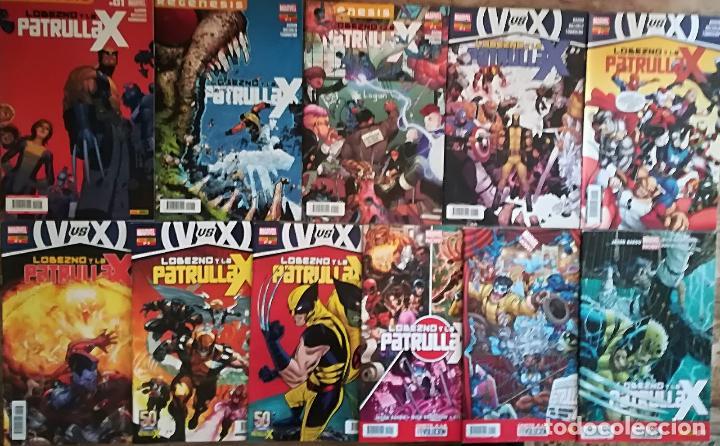 LOBEZNO Y LA PATRULLA X 1,2,3,5,6,7,8,9,10,11,12,13 (Tebeos y Comics - Panini - Marvel Comic)