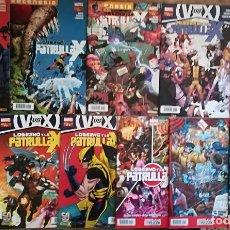 Cómics: LOBEZNO Y LA PATRULLA X 1,2,3,5,6,7,8,9,10,11,12,13. Lote 118294899
