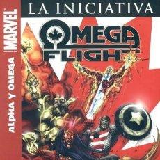 Cómics: OMEGA FLIGHT ALPHA Y OMEGA - PANINI - COMO NUEVO - OFI15. Lote 118352467