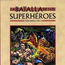 Cómics: LA BATALLA DE LOS SUPERHÉROES 1 Y 2. Lote 118596839
