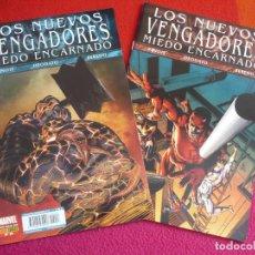 Cómics: LOS NUEVOS VENGADORES VOL. 2 13 Y 14 MIEDO ENCARNADO ( BENDIS DEODATO ) ¡MUY BUEN ESTADO! PANINI. Lote 118810407