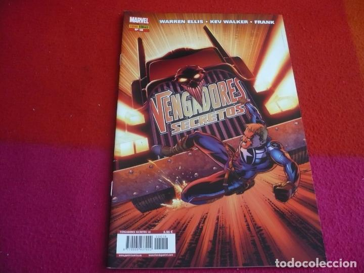 LOS VENGADORES SECRETOS Nº 16 ( WARREN ELLIS ) ¡MUY BUEN ESTADO! PANINI MARVEL (Tebeos y Comics - Panini - Marvel Comic)