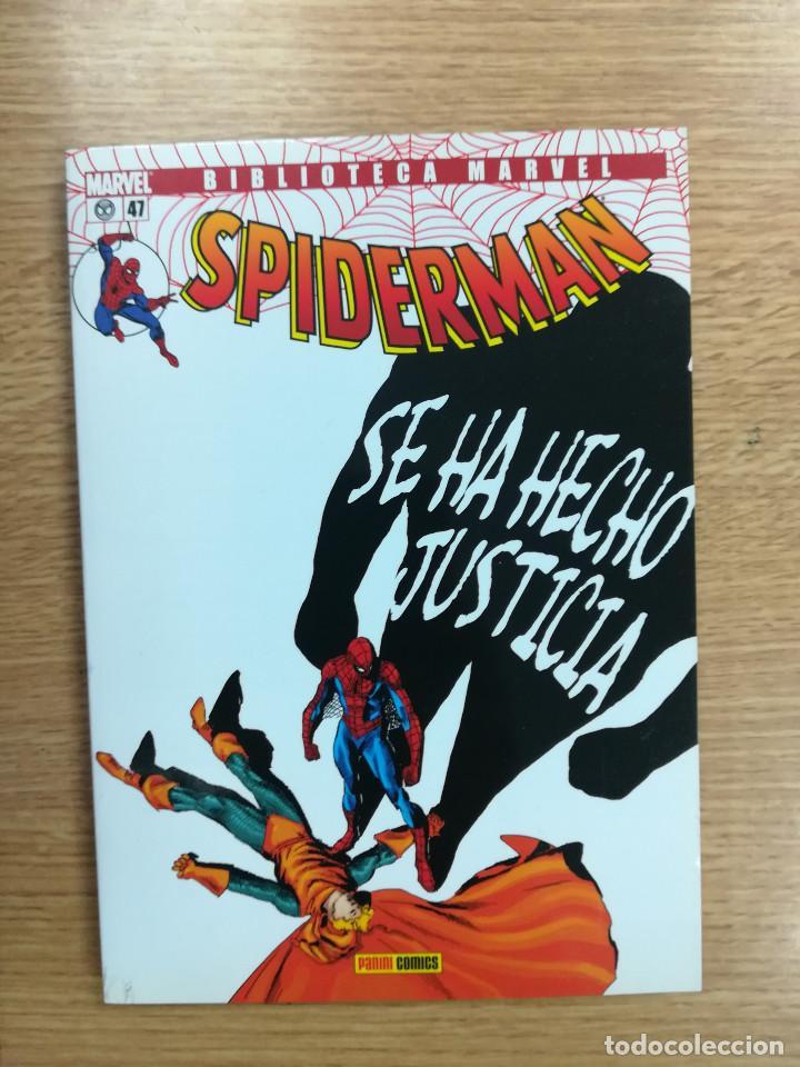 BIBLIOTECA MARVEL SPIDERMAN #47 (Tebeos y Comics - Panini - Marvel Comic)