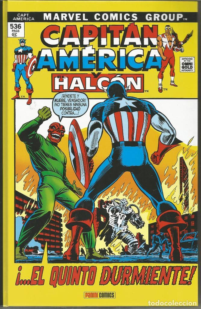 MARVEL GOLD. CAPITÁN AMÉRICA Y EL HALCÓN 3 ¡EL QUINTO DURMIENTE! PANINI CÓMICS (Tebeos y Comics - Panini - Marvel Comic)
