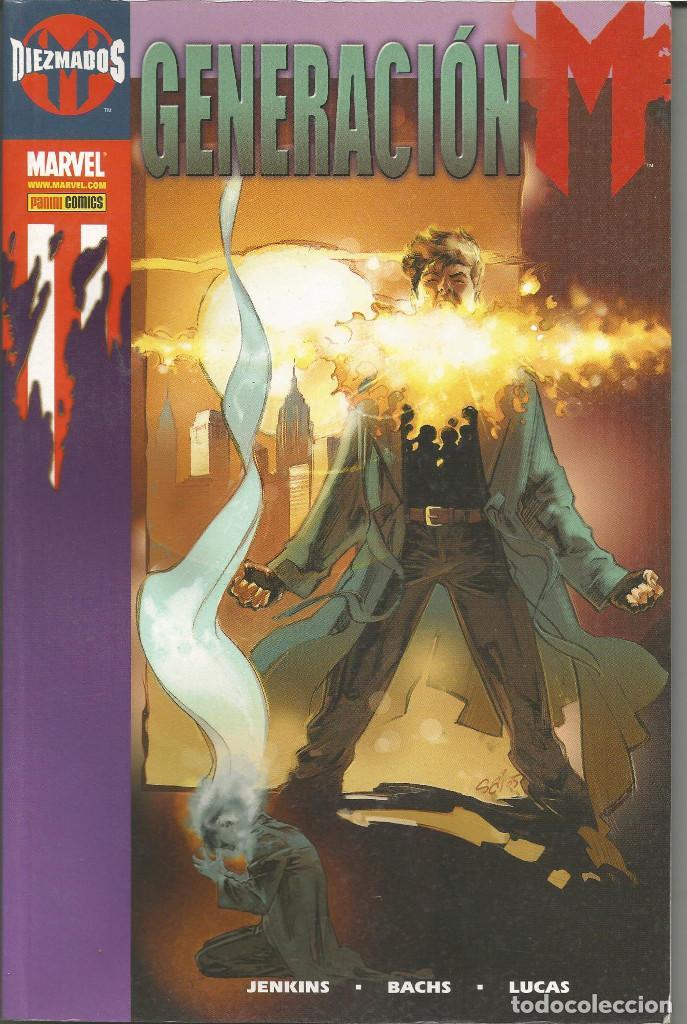 GENERACION M. DIEZMADOS. MARVEL. PANINI COMICS. (Tebeos y Comics - Panini - Marvel Comic)