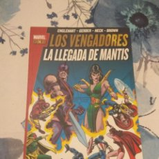 Cómics: MARVEL GOLD VENGADORES LA LLEGADA DE MANTIS. Lote 119999783