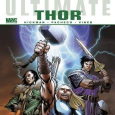 Cómics: MARVEL GRAPHIC NOVELS - ULTIMATE THOR - PANINI - TAPA DURA - IMPECABLE - OFSPJ. Lote 171275710