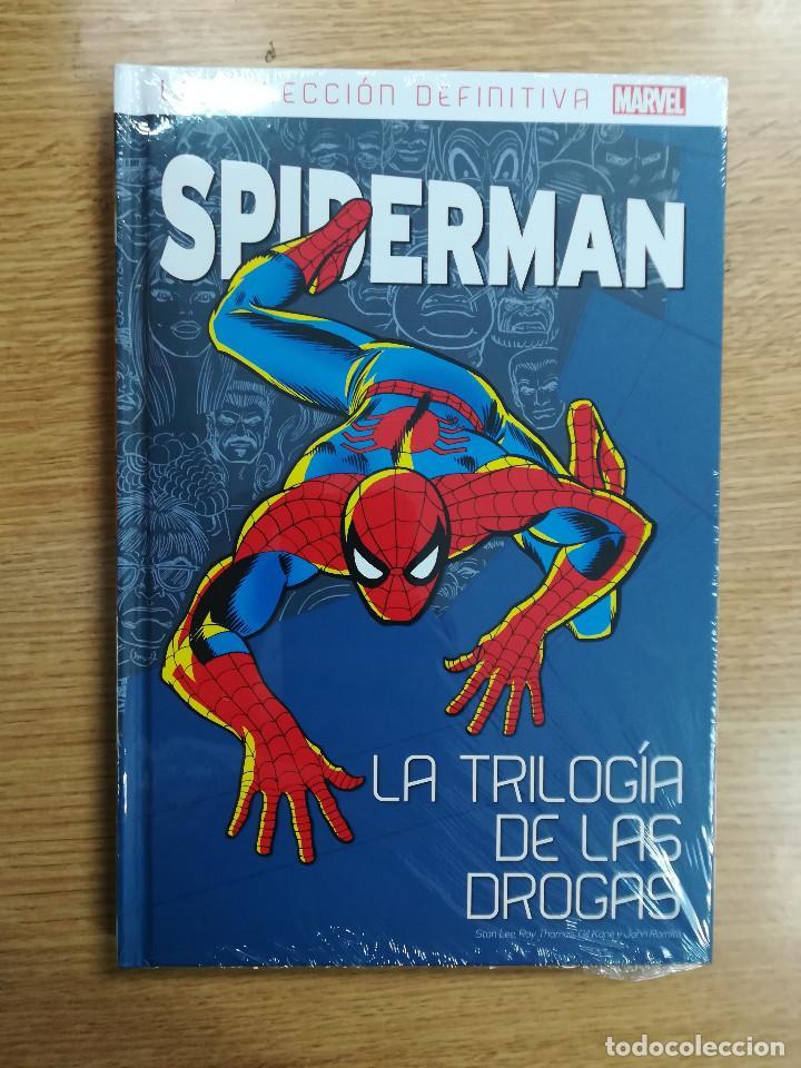 SPIDERMAN LA COLECCION DEFINITIVA #3 LA TRILOGIA DE LAS DROGAS (Tebeos y Comics - Panini - Marvel Comic)