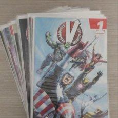 Cómics: VENGADORES MUNDIALES VOLUMEN 1 COMPLETO 18 NUM (1+2+3+4+5+6+7+8+9+10+11+12+13+14+15+16+17+18) PANINI. Lote 121418303