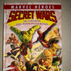 Fumetti: MARVEL HEROES SECRET WARS LA LLEGADA DEL TODOPODEROSO. Lote 121485659