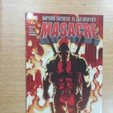 Cómics: MASACRE #24. Lote 121549127